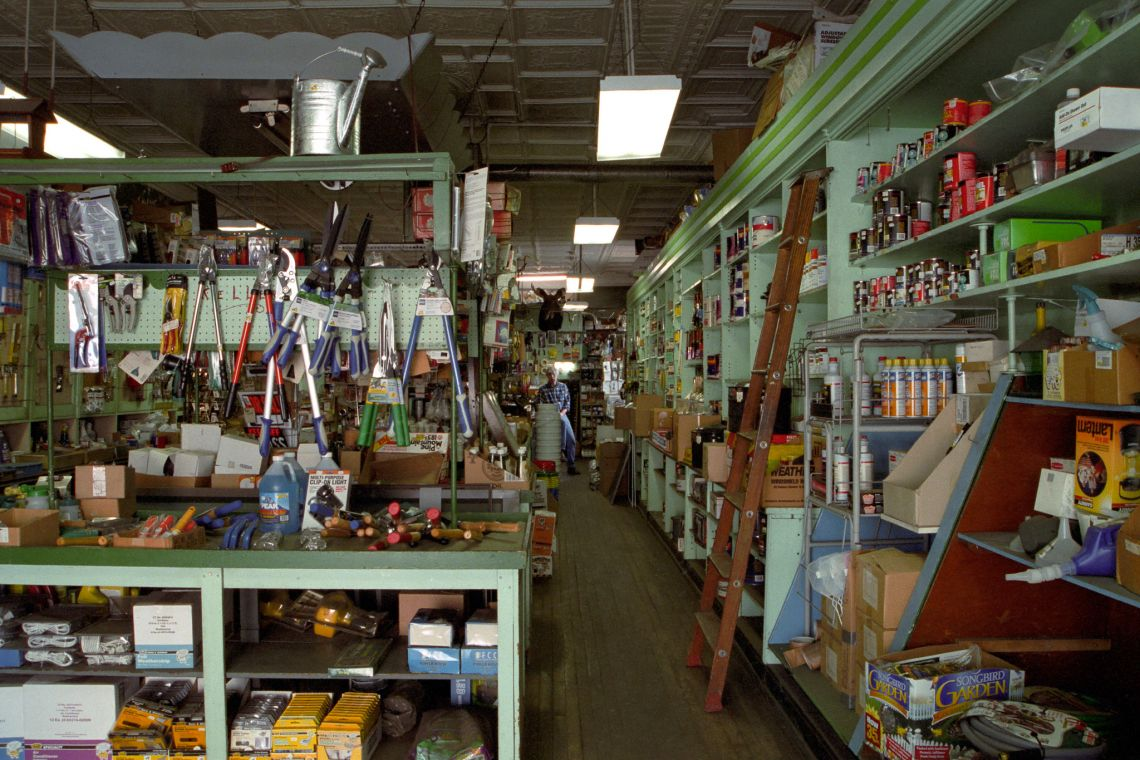Dave Keller in his Wilkinsburg Hardware Store